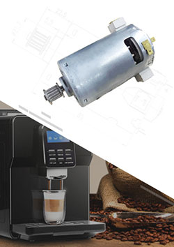 Coffee Machine Brushed DC Motor