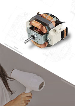 Hair Dryer AC Universal Motor