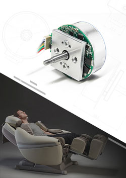 Electric Massage Chair Brushless Motor
