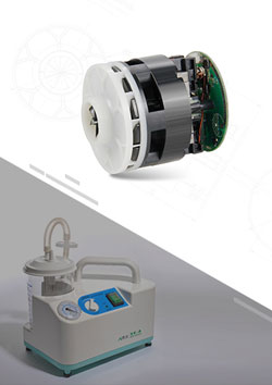 Sputum Suction Brushless DC Motor