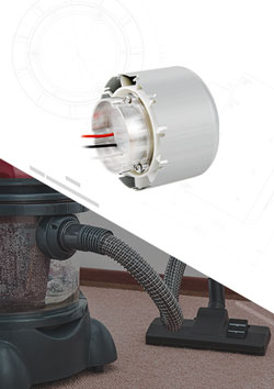 Dry&Wet Dual Purpose Vacuum Cleaner Brushless DC Motor