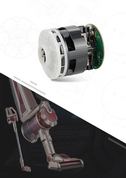 Handhold Vacuum Cleaner Brushless DC Motor