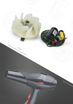 High Speed Hair Dryer Brushless DC Motor
