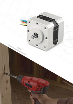 Brushless DC motor For Power Drill