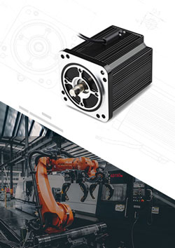 Industrial Automation Brushless Motor