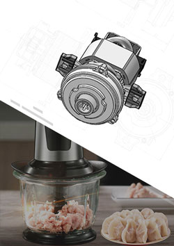 AC Universal Motor for Meat Grinder
