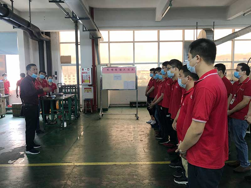"Shenzhen Power Motor the sixth ""overhaul skills contest""2"