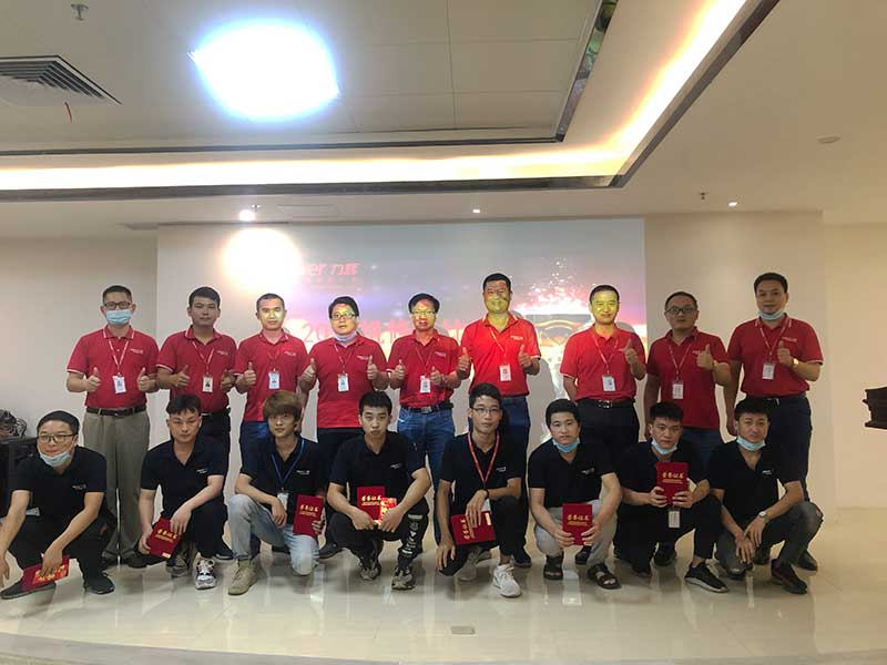 "Shenzhen Power Motor the sixth ""overhaul skills contest""3"