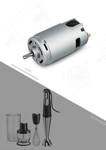 Handheld Mixer or Hand Blender DC Motor