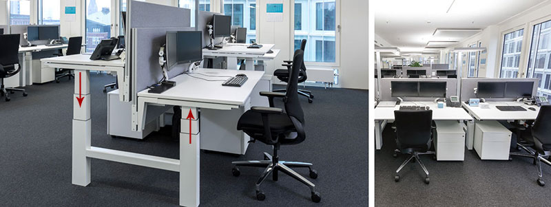 electric office and home adjustable lifting desks