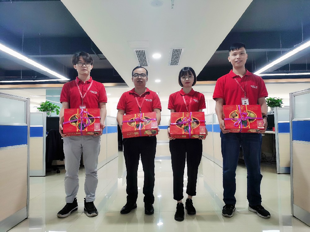 Celebrating the Mid-Autumn festival, Greetting National Day