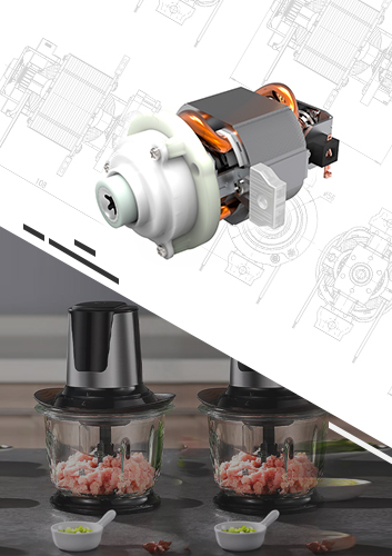 Meat Grinder AC Universal Gearbox Motor