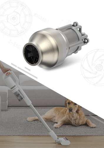 Hand-held Vacuum Cleaner Brushless DC Motor