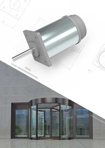 New High Performance Electric Door DC Motor