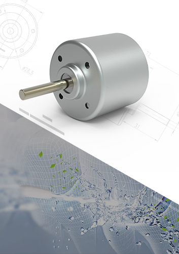 Water Flosser Brushless DC Motor