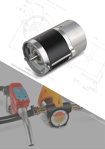 Oil Pump Brushless DC Motor